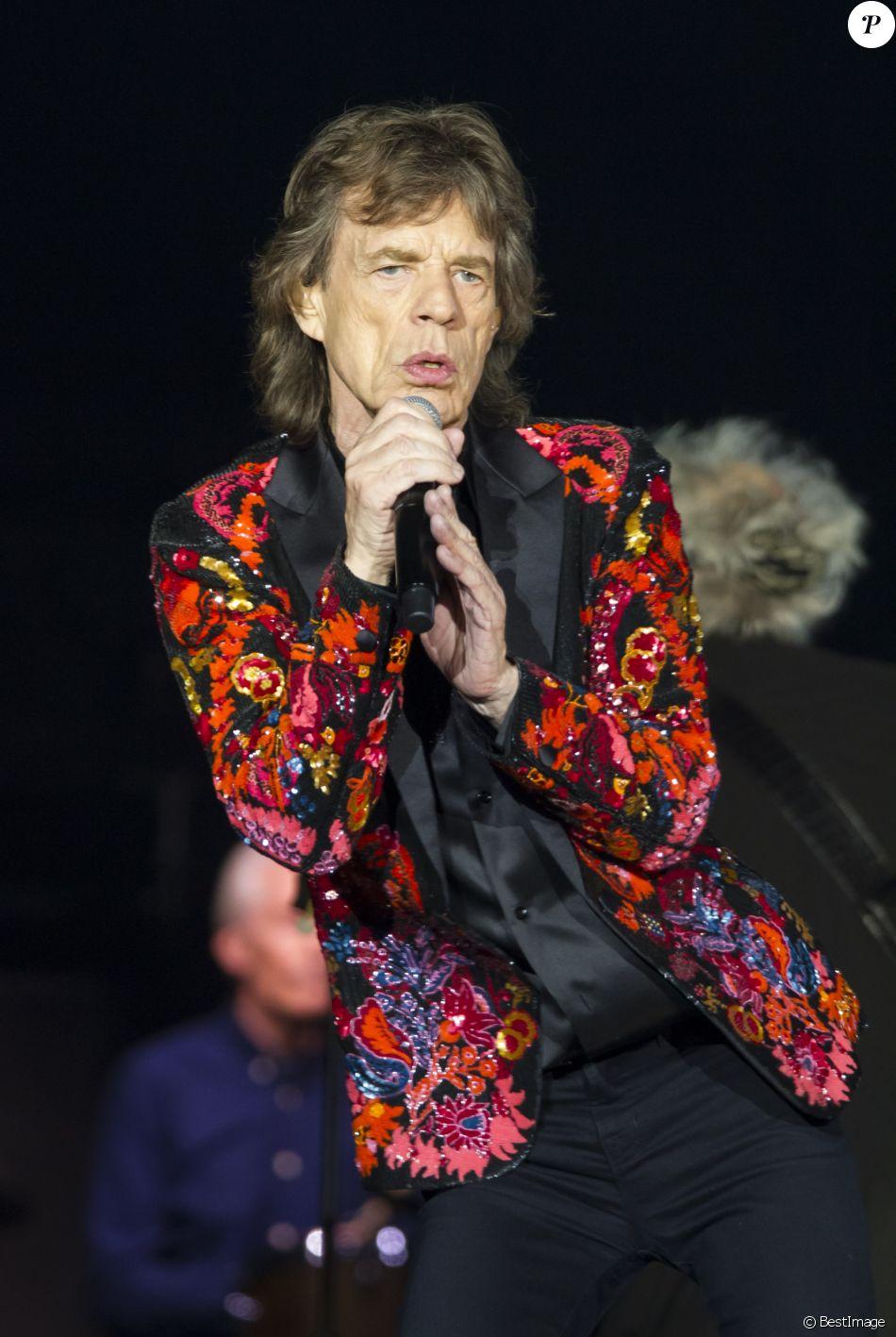 Mick Jagger - Les Rolling Stones en concert à la U Arena de Nanterre, le 22 octobre 2017 (2ème date). © Danyellah P. / Bestimage