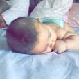 Néo, le bébé de Sofiane (ex-Star Academy) et de Niki. Il est né en septembre dernier.