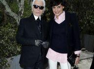 "Karl Lagerfeld : ""Dans le déni total de sa maladie"" selon Inès de la Fressange"