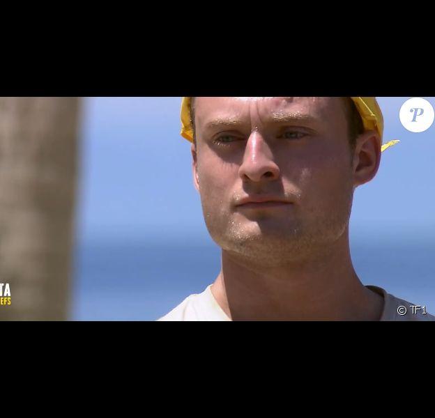 """Victor dans """"Koh-Lanta, la guerre des chefs"""" vendredi 5 avril 2019 sur TF1."""