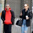Exclusif - Gigi Hadid et Zayn Malik dans les rues de New York le 29 avril 2018.
