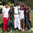 Diddy et ses enfants Justin, les jumelles D'Lila et Jessie, Chance et Christian. Novembre 2018.
