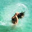 Pauline Ducruet en vacances à l'Île Maurice début 2014. Photo Instagram.