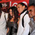La super roulée Fergie et les Black Eyed Peas, lors de la grande soirée pour la sortie de leur nouvel album, au Griffin de New York, le 10 juin 2009 !