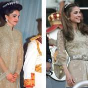 Rania de Jordanie, dix ans après, elle ose la même robe... mais en mieux !