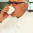 """Alain Ducasse lors des quarts de finale de """"Top Chef 10"""", mercredi 24 avril 2019 sur M6."""