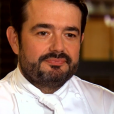 """Jean-François Piège lors des quarts de finale de """"Top Chef 10"""", mercredi 24 avril 2019 sur M6."""
