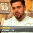 """Florian lors des quarts de finale de """"Top Chef 10"""", mercredi 24 avril 2019 sur M6."""