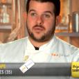 """Guillaume lors des quarts de finale de """"Top Chef 10"""", mercredi 24 avril 2019 sur M6."""