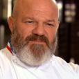 """Philippe Etchebest lors des quarts de finale de """"Top Chef 10"""", mercredi 24 avril 2019 sur M6."""