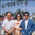 Jean-Louis Trintignant, Anouk Aimée et Claude Lelouch - Présentation d'Un homme et une femme, 20 ans après au Festival de Cannes 1986
