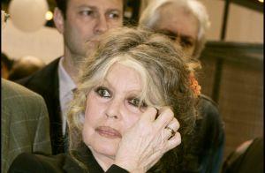 Brigitte Bardot, quand son bébé est né :
