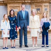 Letizia d'Espagne : Sublime avec ses filles Leonor et Sofia pour Pâques