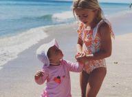 Princesse Madeleine : Ses filles Leonore et Adrienne trop mignonnes à la plage