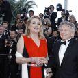 Catherine Deneuve, Roman Polanski - Montée des marches du film de la Soirée 70ème Anniversaire lors du 70ème Festival International du Film de Cannes. Le 23 mai 2017. © Borde-Jacovides-Moreau/Bestimage