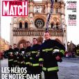 Une de Paris-Match, sorti le 25 avril 2019.
