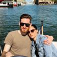 Honorine Magnier et Noah sur les quais de scène - Instagram, 17 avril 2018
