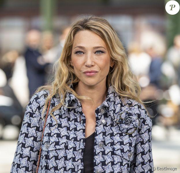 """Laura Smet - Les célébrités au photocall du défilé """"Chanel Cruise Collection 2020"""" au Grand Palais. Paris, le 3 mai 2019. © Olivier Borde/Bestimage"""