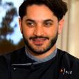 "Merouan lors de la grande finale de ""Top Chef 10"" (M6) mercredi 8 mai 2019."
