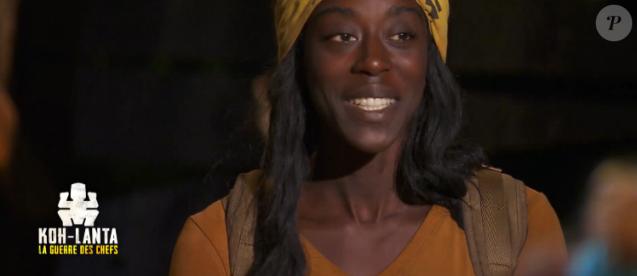 """Béatrice dans """"Koh-Lanta, la guerre des chefs"""", épisode diffusé vendredi 3 mai 2019 sur TF1."""