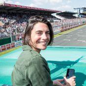 Alessandra Sublet : Radieuse et aux anges pour sa plus grande passion