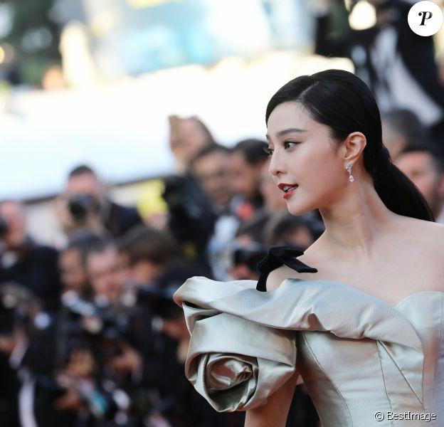 Fan Bingbing - Montée des marches du film « Les Eternels » lors du 71ème Festival International du Film de Cannes. Le 11 mai 2018 © Borde-Jacovides-Moreau/Bestimage