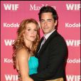 Poppy Montgomery et Adam Kaufman à l'occasion des  Women in Film 2009 Crystal and Lucy Awards , à l'Hyatt Regency Century Plaza de la Cité des Anges, le 12 juin 2009 !
