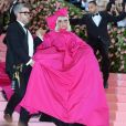 "Lady Gaga et couturier Brandon Maxwell - 71e édition du MET Gala sur le thème ""Camp: Notes on Fashion"" au Costume Intitute du Metropolitan Museum of Art à New York, le 6 mai 2019."