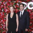 Amy Schumer et son mari Chris Fischer - 72e cérémonie annuelle des Tony Awards au Radio City Music Hall à New York, le 10 juin 2018.