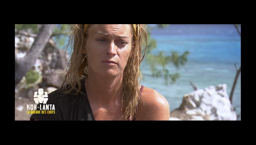 """Sophie dans """"Koh-Lanta, la guerre des chefs"""", épisode diffusé vendredi 3 mai 2019 sur TF1."""