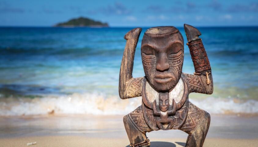 """Le totem de """"Koh-Lanta, la guerre des chefs"""", sur TF1"""