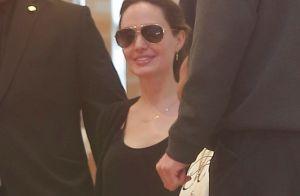 Angelina Jolie heureuse en famille : shopping de luxe pour ses enfants