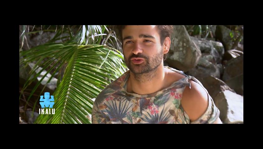 """Brice dans """"Koh-Lanta, la guerre des chefs"""" (TF1) le 19 avril 2019."""