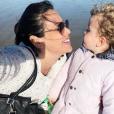 Daniela Martins et sa fille E. - Instagram, 12 mai 2019
