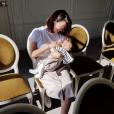 Daniela Martins souriante avec son fils dans les bras- Instagram, 5 mai 2019