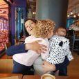 Daniela Martins avec ses deux enfants - Instagram, 2 mai 2019
