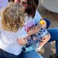 Daniela Martins pose avec son fils et sa fille - Instagram, 25 avril 2019