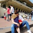 Daniela Martins à l'Hippodrome d'Auteuil - Instagram, 24 avril 2019
