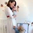 Daniela Martins et ses bébés - Instagram, 15 avril 2019