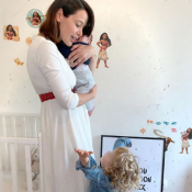 Daniela Martins : Topless et en culotte, elle dévoile son corps post-grossesse