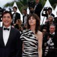 """Javier Bardem et Charlotte Gainsbourg - Montée des marches du film """"The Dead Don't Die"""" lors de la cérémonie d'ouverture du 72ème Festival International du Film de Cannes. Le 14 mai 2019 © Borde / Bestimage"""