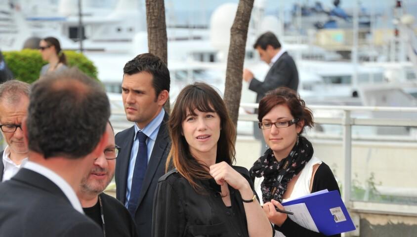 Charlotte Gainsbourg - Photocall du film Melancholia en 2011 au Festival de Cannes