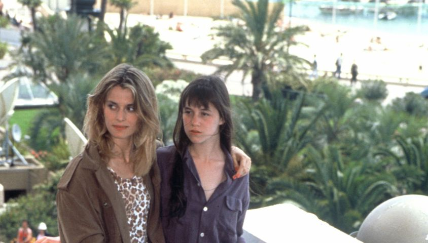 Charlotte Gainsbourg et Nastassja Kinski au Festival de Cannes 1990