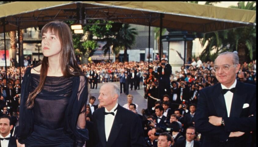 Charlotte Gainsbourg - Présentation du film Le Soleil même la nuit au festival de Cannes 1990