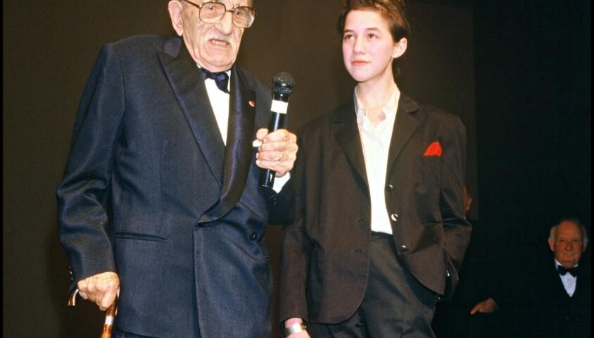 Charlotte Gainsbourg et Charles Vanel au Festival de Cannes 1986