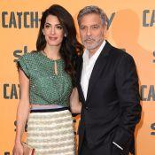 George Clooney à Rome : soirée tapis rouge réussie avec Amal Clooney