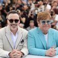 Elton John et son mari David Furnish - Photocall du film Rocketman (Hors compétition) lors du 72ème Festival International du film de Cannes le 16 mai 2019 © Jacovides-Moreau / Bestimage  Photocall for the movie Rocketman during the 72nd Cannes International Film festival. On may 16th 2019.16/05/2019 - Paris