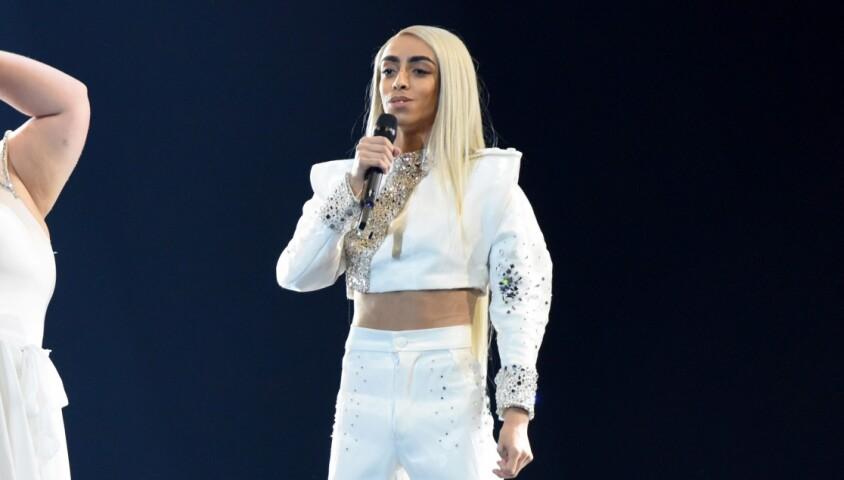 Bilal Hassani lors de l'Eurovision 2019 à Tel Aviv, Israël, le 13 mai 2019. © Persona Stars/ZUMA Press/Bestimage