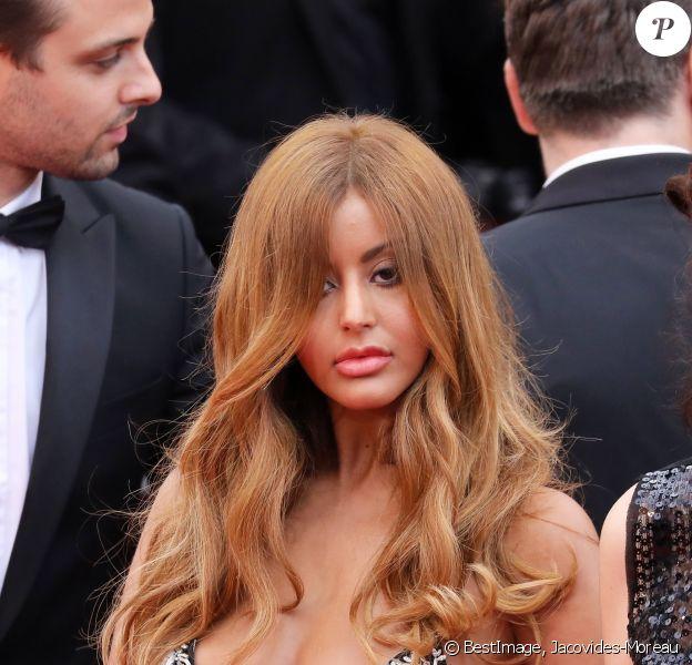 """Zahia Dehar - Montée des marches du film """"A Hidden Life"""" lors du 72ème Festival International du Film de Cannes. Le 19 mai 2019 © Jacovides-Moreau / Bestimage"""
