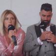 """Sarah Lopez et Jonathan de """"Moundir 4"""" en interview pour """"Purepeople"""", le 7 mai 2019"""